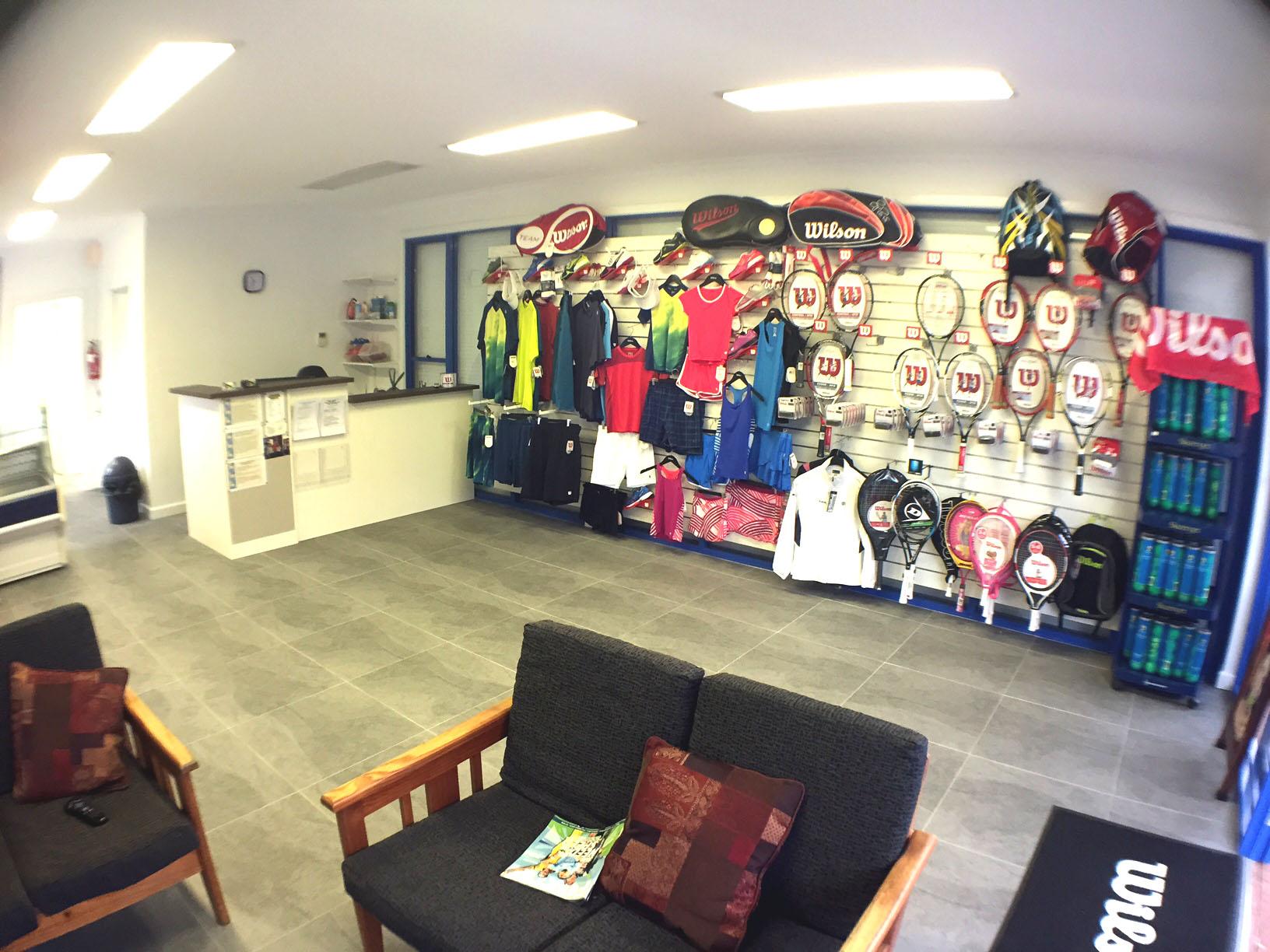 Latham Park Tennis Centre Pro Shop